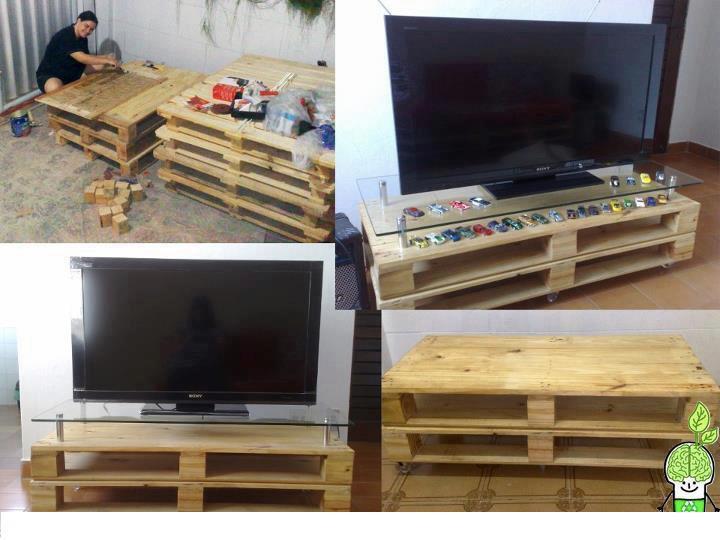 Como hacer un mueble para tv y audio for Manual para armar un mueble